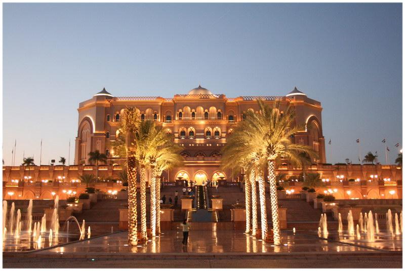 L'Emirates Palace, Abu Dhabi, Emirates Arabes Unis