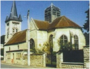 Lamorlaye,Oise, Picardie, France, eglise st-nicolas