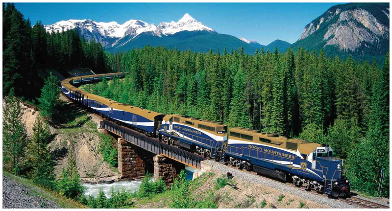 Le Rocky Mountaineer Tour, au Canada