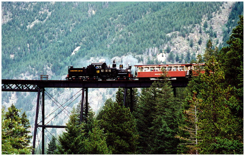 Le train de Georgetown, dans le Colorado