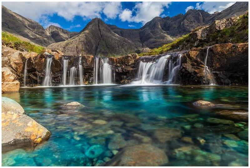 Les piscines des Fées de l'Ile de Skye en Ecosse