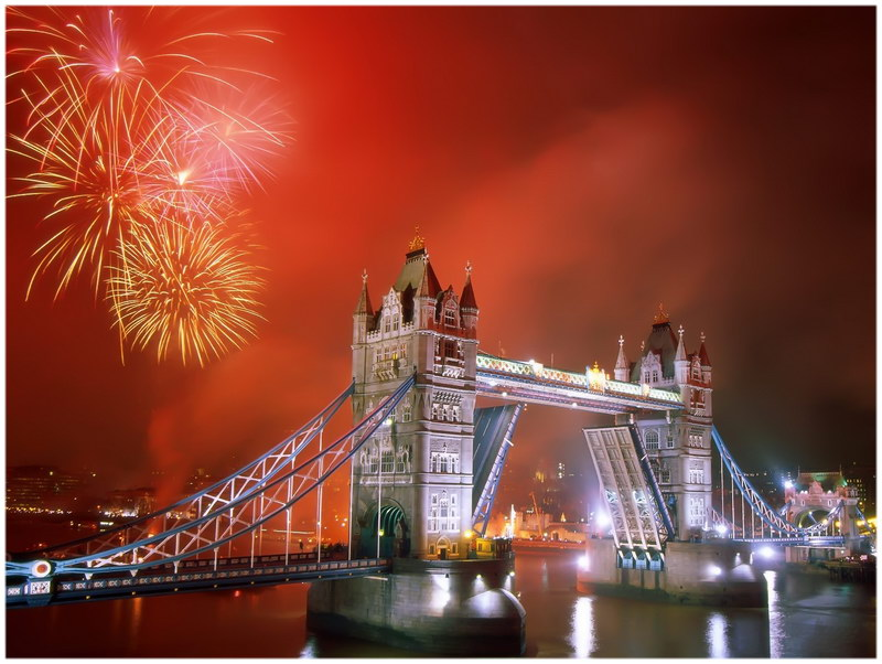 Londres new year