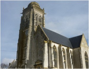 Maignelay-Montigny, Oise, Picardie, France, eglise st-martin