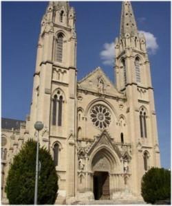 Nîmes,Gard, Languedoc-Roussillon,France, cathedrale notre-d