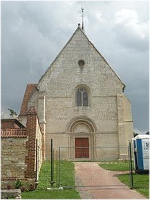 Remerangles, Oise, Picardie, France, eglise notre-dame