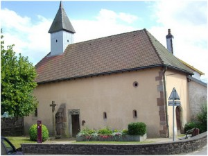Remiremont,Vosges, Lorraine, France, chapelle de la madeleine