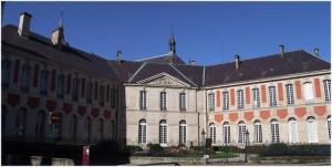 Remiremont,Vosges, Lorraine, France, palais abbatial
