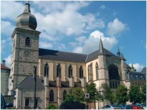 Remiremont,Vosges, Lorraine, France, patrimoine religieux
