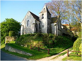 Rully, Oise, Picardie, France, eglise de bray