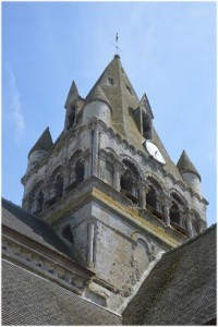 Rully, Oise, Picardie, France, eglise notre-dame-et-st-rieul