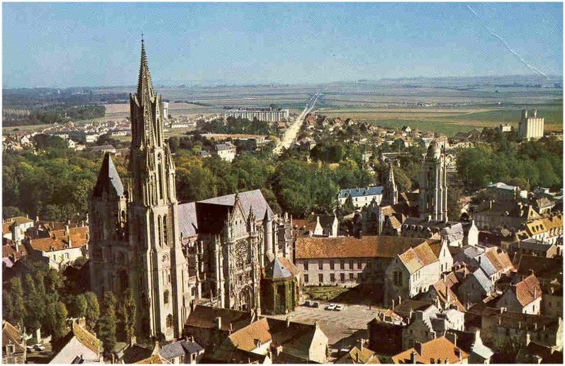 Senlis,Oise, Picardie, France