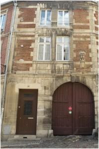 Senlis,Oise, Picardie, France, hotel des trois pots