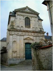 Senlis,Oise, Picardie, France, chapelle de l'ancien hopital