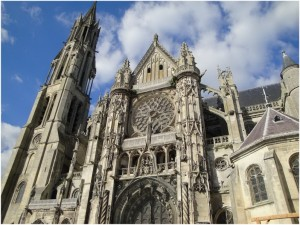 Senlis,Oise, Picardie, France, cathedrale notre-dame de senlis