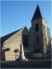 Trappes,Yvelines, Île-de-France, France, eglise st-georges