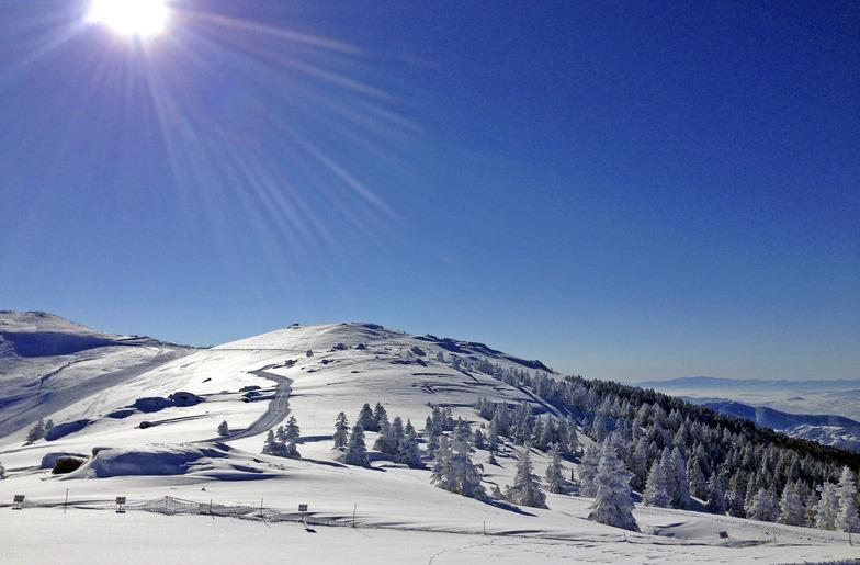 Le mont Uludağ