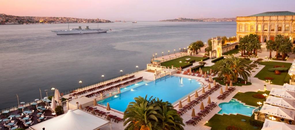 Le palais de Ciragan, Istanbul, Turquie