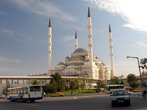 La mosquée kocatepe