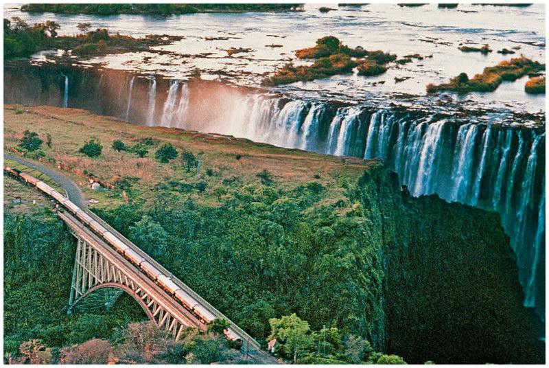 le Rovos Rail, en Afrique du Sud
