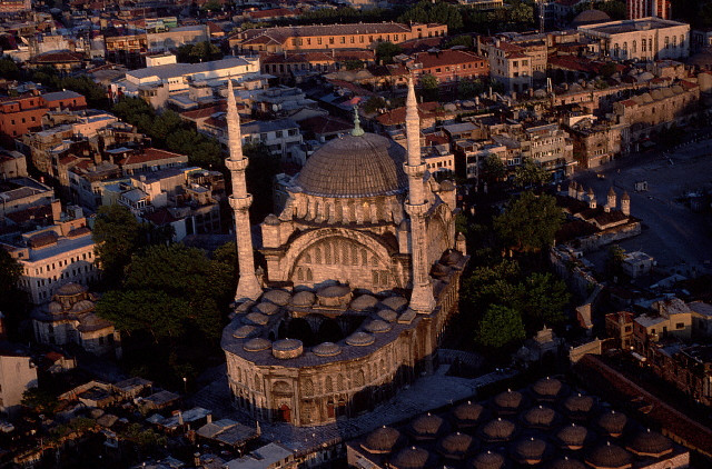 La Mosquée Nuruosmaniye, Istanbul, Turquie