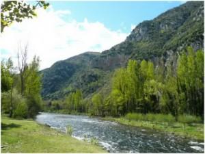 L'Ariege,Languedoc-Roussillon-Midi-Pyrenees, France, environ
