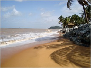 LaGuyane,Amerique du Sud, plage