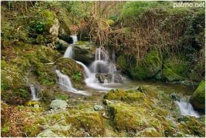 La Haute-Corse, Corse, France, cascade de saparelle