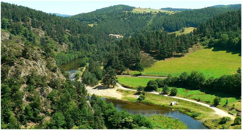 La Haute-Loire, Auvergne-Rhone-Alpes, France