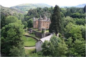 LaLozere,Languedoc-Roussillon-Midi-Pyrenees, France, chateau