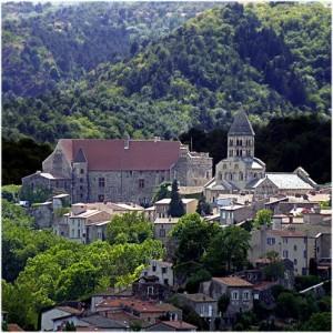 LePuy-de-Dome, Auvergne-Rhone-Alpes, France, village