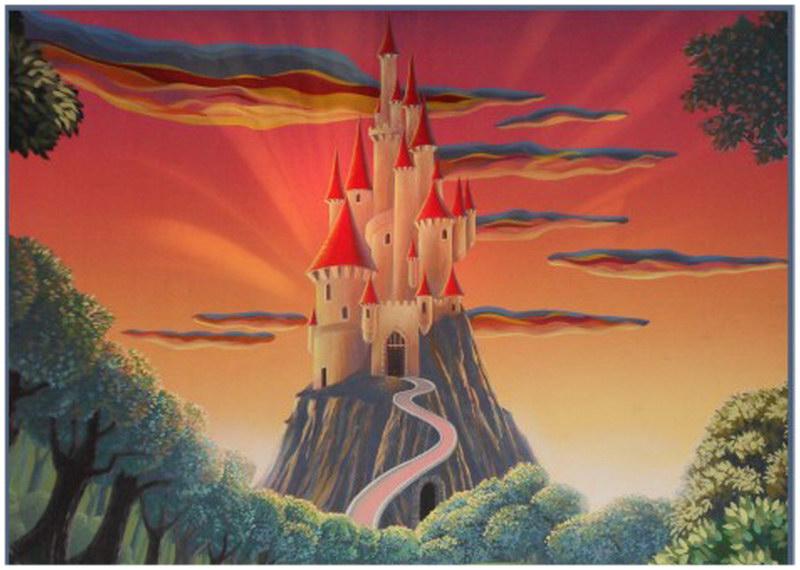 Le château de Blanche neige