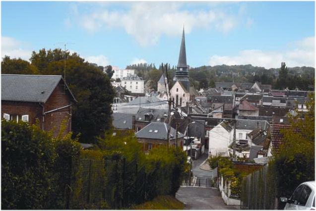 Le pays de Thelle, Oise, Picardie, France