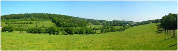 Le pays de Thelle, Oise, Picardie, France, paysage