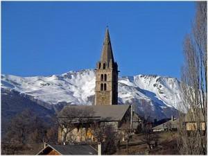 LesHautes-Alpes,Provence-Alpes-Cote d'Azur, France, st-sauve