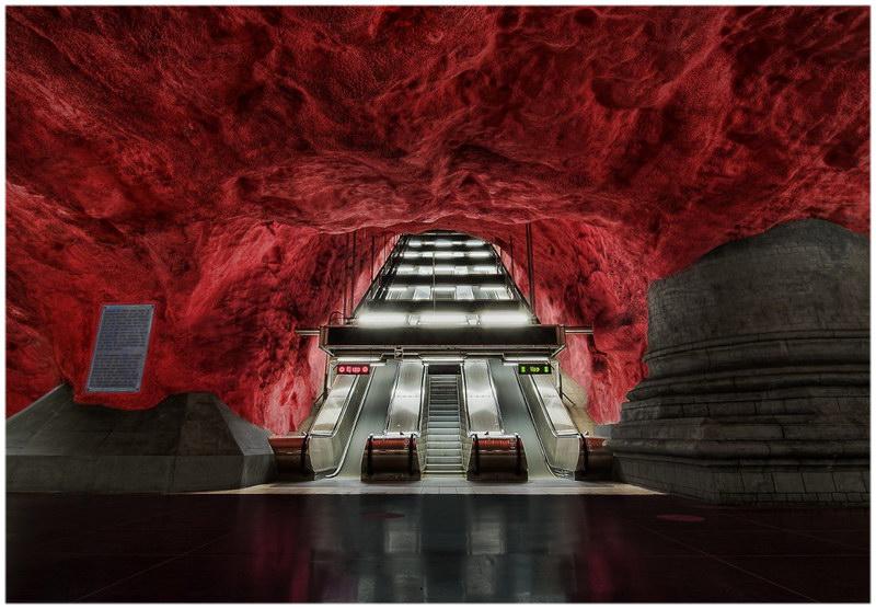 Les escaliers de l'enfer, Suède
