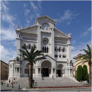 Monaco, la principauté de Monaco, cote d'Azur, cathedrale