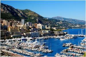 Monaco, la principauté de Monaco, cote d'Azur