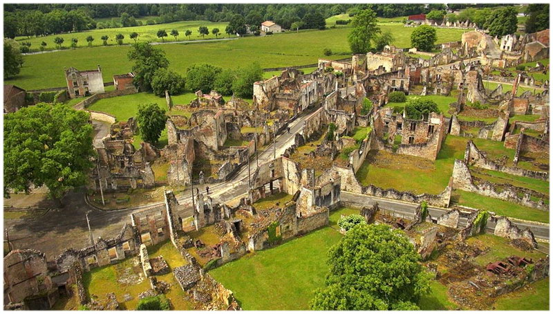 Oradour-sur-Glane (France, Limousin)