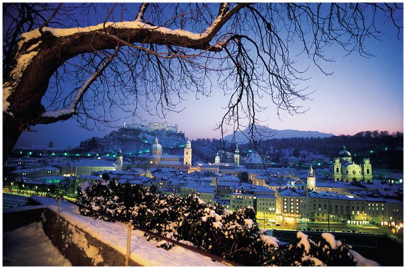 Salzbourg en hiver