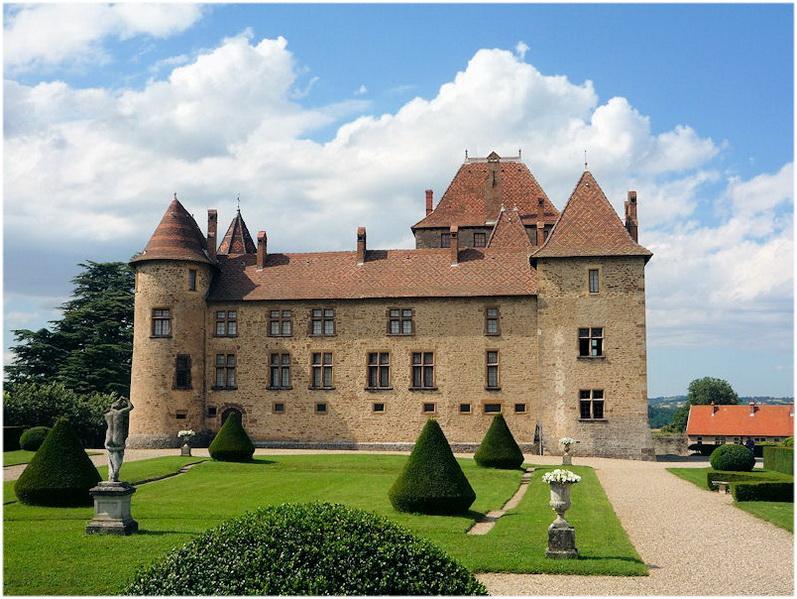 Vienne, Isère, France, chateau de septeme