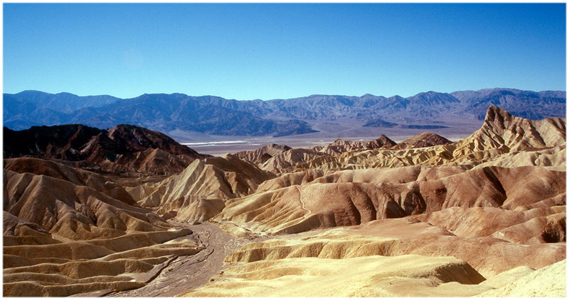death valley aux Etats-Unis