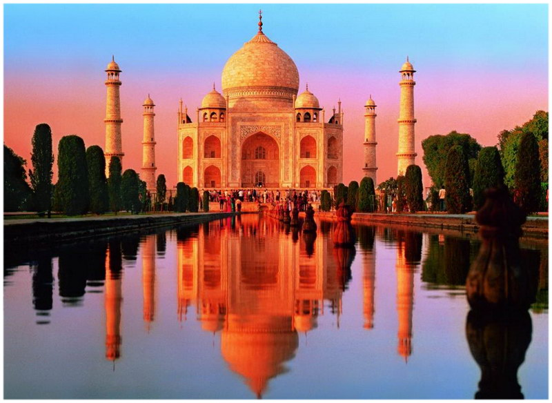 le Taj Mahal, en Inde