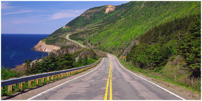 CABOT TRAIL ROAD - CANADA