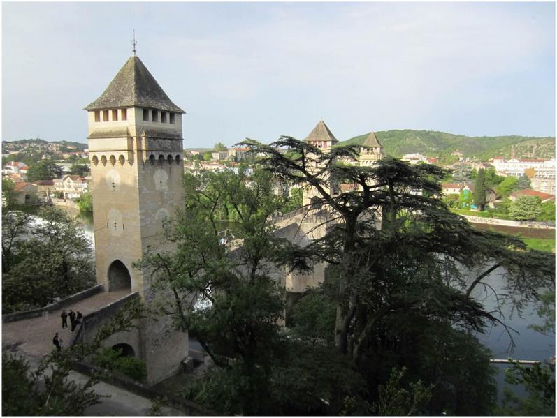 Le Patrimoine de Cahors, Lot, France