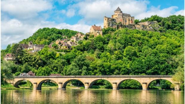 Castelnaud-la-Chapelle, la Dordogne, France
