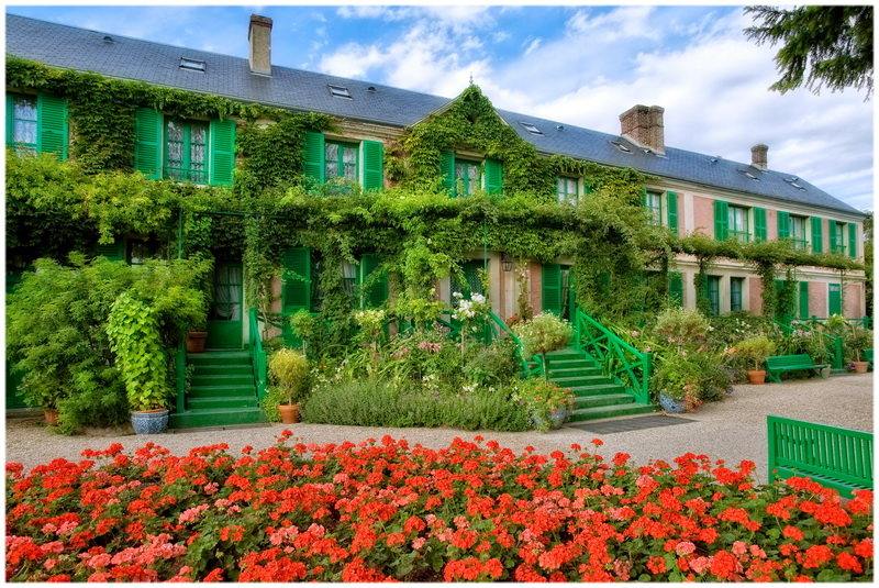 Jardin de Monet à Giverny (France)