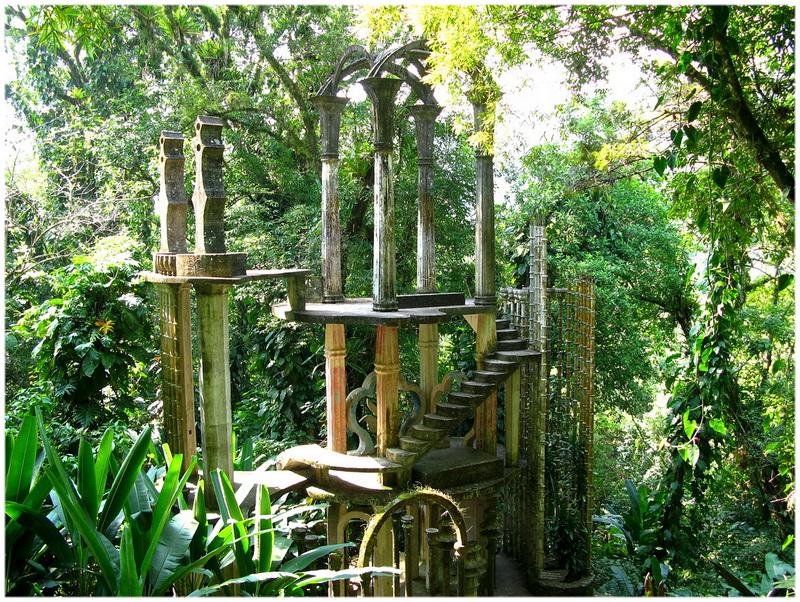 Jardins de Las Pozas à Xilitla (Mexique)