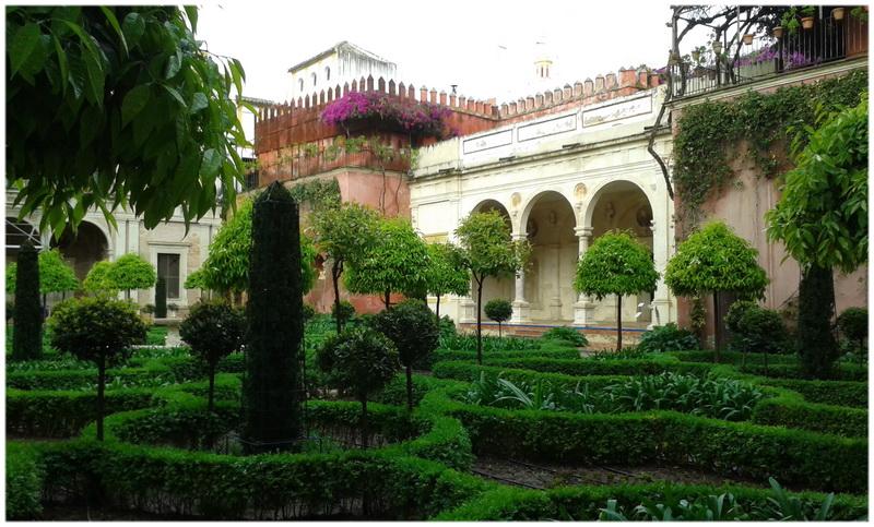 Jardins du Generalife à Grenade (Espagne)