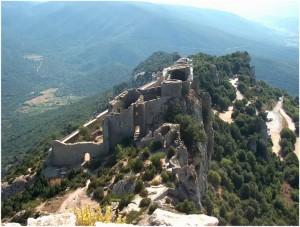 L'Aude,Languedoc-Roussillon-Midi-Pyrénées, France, chateau