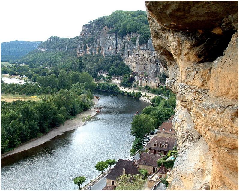 La Roque-Gageac, la Dordogne, France